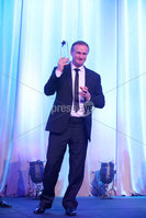 Press Eye - Belfast - Northern Ireland - 6th February 2017 -  . Belfast Telegraph Sports Awards 2016.. . Award 7 - Team of the Year Award. The Northern Ireland Football Team won the Team of the Year Award, sponsored by McComb's Coach Travel. It was presented by Caroline McComb, Director of McCombs Coach Travel.. Michael O\'Neill. Photo by Kelvin Boyes / Press Eye..