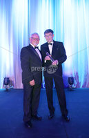 Press Eye - Belfast - Northern Ireland - 6th February 2017 -  . Belfast Telegraph Sports Awards 2016.. Award 8 - Paddy Patterson Award,. David Seaton won the Paddy Patterson Award, sponsored by the Northern Ireland Sports Forum, presented by Chair of the Forum, Roy Millar..  . Photo by Kelvin Boyes / Press Eye..