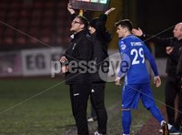 Danske Bank Premiership, Solitude, Belfast 1/12/2018 . Cliftonville vs Dungannon Swifts. Dungannon Manager Peter Kennedy. Mandatory Credit INPHO/Freddie Parkinson