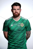Press Eye - Belfast - Northern Ireland - November 2019. . Picture by William Cherry  /PressEye. Liam Donnelly. Northern Ireland Squad 2019 - 2020 new kit.
