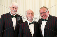 2 September 15 -   Picture by Darren Kidd / Press Eye.. Hillsborough Oyster Festival 2015:. Oyster Festival Musical Evening: The Ulster Youth Orchestra performing for the first time at Hillsborough International Oyster Festival along with the Portadown Male Voice Choir and soloist Zoe Jackson.. Pictured are Portadown Male Voice Choir members  Darryl Magee, Rowland Gilpin and George Kennedy