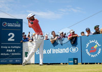 2018 Dubai Duty Free Irish Open, Ballyliffin Golf Club, Co. Donegal 8/7/2018. Erik van Rooyen tees off the 2nd . Mandatory Credit ©INPHO/Oisin Keniry