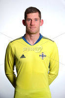 Press Eye - Belfast - Northern Ireland - November 2019. . Picture by William Cherry  /PressEye. Michael McGovern . Northern Ireland Squad 2019 - 2020 new kit.