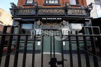 . Press Eye - Belfast - Northern Ireland - 16th October 2020. The Pavilion Bar Ormeau Road Belfast. New Covid tighter restrictions which will come into regulatory effect today. and will be in place for a period of four weeks.. Photo by Matt Mackey / Press Eye .