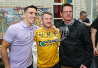 Press Eye - Belfast - Northern Ireland - 21st June 2019. Picture by Jonathan Porter/PressEye. File an Phobail 2019 August Festival Programme launch at Conway Mill in west Belfast. . Left to right. Michael Conlan and paddy Barnes meet a fan. .  . PRESS RELEASE. ON BEHALF OF FILE AN PHOBAIL. For media enquiries please contact Sen Duffy on 07554010922 or email sean@evolvecpa.com. Boxing Star Michael Conlan launches File an Phobail 2019 August Festival Programme. Boxing star Michael Conlan today launched this years File an Phobails August festival programme, along with Belfast Mayor John Finucane, at a packed Conway Mill on Belfasts Falls Road.. Opening the launch event, Belfast Mayor John Finucane said:. For more than 30 years, organisers of File an Phobail have worked tirelessly to create a diverse, open and inclusive festival which celebrates the richness and diversity of Belfasts culture and communities.. Im delighted that Belfast City Council is one of the principal funders of this festival. What started out as a small but bold community festival three decades ago, has grown into a highly anticipated and important event on the citys festival calendar, attracting thousands of people each and every year, not just from across the city but across the world.. File an Phobail brings West Belfast to life, with a unique offering of events and activities which entertain, educate and challenge.. Its reputation continues to go from strength to strength and the positive economic impact it has on our city is fantastic.. This years packed festival programme has something for everyone to enjoy. The wide variety of acts and events showcases an incredible depth of talent across music, drama and the arts.. Visitors can look forward to performances by world-renowned music stars, debates, exhibitions, plays, sporting events, family and community events, and much more.. I want to wish all of the festival organisers and participants the best of luck in the time ahead. I have no doubt they will deliver another fantastic festival, showcasing the best of Belfast.. File Director Kevin Gamble said:. We are delighted that local boxing hero Michael Conlan was here to launch our August File programme of events today along with the Mayor of Belfast John Finucane.. Over the years, File an Phobail has developed enormously and is now the biggest community arts festival in Ireland, with hundreds of events taking place right across the City throughout the course of the festival.. We have concerts, drama, art exhibitions, debates and discussions, lectures, carnival parades, parties in the park, sport, visual arts with an attendance of over 80,000 for our events.. This year is a particularly exciting year for File because for the first time we will be holding four open air events in our Falls Park event space with an overall capacity of over 40,000 people.. One of the major highlights of File will be the Michael Conlan v Vladimir Nikitin fight night in the Falls Park which will be a complete sell-out, and will be televised live on ESPN+, BT Sport and other channels across the world. A massive opportunity to showcase Belfast!. Michael Conlan is an absolute hero here in Belfast for his incredible Olympic achievements and his remarkable rise since he turned professional.. On the back of their sell out arena tour, Boyzone will also be appearing in concert at File in the Falls Park on Saturday 10th August, we have a massive free File Dance Night taking place on Thursday 8th August, and famous Irish singer and songwriter Phil Coulterwill be appearing live at Clonard Monastery on Tuesday 6th August for what will be another special occasion at this fantastic venue.. Also, we were honoured today to present the Ballymurphy Massacre families with the Spirit of File award for the determination and commitment they have shown to achieve the truth about the massacre of their loved ones in August 1971.. File, from its outset in 1988, has sought to display and showcase the positives of West Belfast and the incredible talent and creativity that comes from that.. This year we will have the biggest File ever with around 400 events and we hope you can all join us, take part, enjoy, and celebrate the fantastic community that we have.. Irish boxing star Michael Conlan was the main speaker at the launch and said:. Im delighted to have been asked to speak today at the launch of File an Phobails August Programme.. I cant believe how many events the festival delivers. They really do put Belfast on the map!. The work that File does in communities across Belfast is fantastic, and each year they develop initiatves that not only bring communities together, but showcase the positive side of Belfast on an international stage.. This August there are over 400 events in 30 different venues.. Thats unbelievable.. Ive attended File for many years now as have my family and my friends.. Its brilliant and the build up to it and the atmosphere it creates Is something else.. I love this community and the people in it.. People have supported me and backed me and encouraged me and it really means a lot to me.. Last year Kevin Gamble said what about fighting in the Falls Park next year and we said lets talk about it.. And before we knew it, it all just began to come together.. The work that MTK Global and my brother Jamie have put in, Top Rank Boxing and the legendary Bob Arum who visited the park a few weeks ago, Kevin Gamble and the File team has been phenomenal.. They made the Falls Park Fight Night on Saturday 3rd August happen.. And what an event it promises to be.. The build-up has been amazing.. I cant wait.. Im working hard.. Im focused.. I know I am going to deliver a night for Belfast to remember.. The thought of a sold out Falls Park outdoor arena being beamed live across the world.. Its just incredible.. Not only is Belfast going to experience a great night as part of File, the world is literally going to see File and Belfast at its best, from the US, Canada, Russia, Germany and further afield.. And the support I have had and all the other fantastic boxers who will be fighting on the undercard have had has been massive.. Some of them are here today.. This is a big opportunity and a huge occasion for all of us.. We are proud that this is at File and proud that it is in the heart of West Belfast in the Falls Park.. And we want to give all of you a night to remember - I know we will give you all a night to remember.. Thank you for giving me the opportunity to speak today and see you all in the Park on August 3rd!. FILE HIGHLIGHTS. . Highlights for this Augusts festival, which runs from Thursday 1st to Sunday 11th August, include:. - Comedy Night with Jake OKane and Tim McGarry  Friday 2nd August 7pm, The Devenish, Finaghy Road North. - Michael Conlan v Vladimir Nikitin File Fight Night - Saturday 3rd August 5pm, Falls Park, Falls Road. - Teddy Bears Picnic - Sunday 4th August 2-4pm, Dunville Park, Falls Road. - Lets Talk Politics - Monday 5th August 7pm, St Marys University College, Falls Road. - The Leaders Debate - Tuesday 6th August 7pm, St Marys University College, Falls Road. - Phil Coulter live at Clonard Monastery  Tuesday 6th August 7pm, Clonard Street. - The Big Youth Debate with Stephen Nolan - Wednesday 7th August 1pm, St Louises School, Falls Road. - West Belfast Talks Back Wednesday 7th August 7pm, St Louises School, Falls Road. - File Dance Night - Thursday 8th August 3pm, Falls Park, Falls Road. - File Carnival Parade - Saturday 10th August 12pm  Departs Dunville Park, Falls Road. - Party in the Park - Saturday 10th August 1pm-3.30pm, Falls Park, Falls Road. - Boyzone - Saturday 10th August 6pm, Falls Park, Falls Road. - The Annual James Connolly Lecture - With British Labour Party Shadow Chancellor John McDonnell MP - Date and Venue TBC. ENDS