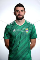 Press Eye - Belfast - Northern Ireland - November 2019. . Picture by William Cherry  /PressEye. Conor McLaughlin.. Northern Ireland Squad 2019 - 2020 new kit.