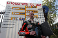 ©Press Eye Ltd Northern Ireland -28th April 2012 - Mandatory Credit - Picture by Matt Mackey/presseye.com. Cookstown 100 road races.. Supersport race winner Ryan Farquhar.