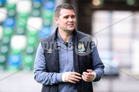 Danske Bank Premiership, National Football Stadium at Windsor Park, Belfast, Northern Ireland 17/10/2020. Linfield vs Carrick Rangers. Linfields manager David Healy. Mandatory Credit INPHO/Declan Roughan
