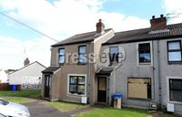 "Press Eye - Belfast - Northern Ireland - 16th July 2017 . Detectives are appealing for information after a property in the Meadow Park area of Newtownards had windows smashed and was later subjected to an arson attack earlier today (Sunday, 16 July). . Detective Sergeant McGrory said ""Shortly after 5:00 am this morning police received reports that 6 windows had been smashed at this property and entry had been gained with damage caused to the interior doors. PSNI attended the scene helping to secure the premises. Then after 7:00 am we received reports that the property had been set alight causing extensive damage downstairs and smoke damage to the rest of the house. Thankfully in the intervening period between the two attacks the occupant had left the property and as a result nobody was injured. These were quite reckless acts and we would wish to see the perpetrators brought to justice.. Picture by Matt Mackey / presseye.com."