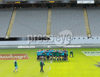 Ireland Rugby Captain\'s Run, Eden Park, Auckland, New Zealand 8/6/2012. Team Huddle during the captains run. Mandatory Credit ©INPHO/Billy Stickland