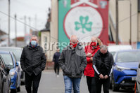 Danske Bank Premiership 17/10/20. Cliftonville vs Glentoran. Cliftonville fans make their way into the ground ahead of their match against Glentoran. . INPHO/Philip Magowan/PressEye