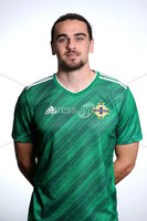 Press Eye - Belfast - Northern Ireland - November 2019. . Picture by William Cherry  /PressEye. Ciaron Brown. Northern Ireland Squad 2019 - 2020 new kit.