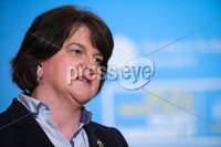 Press Eye - Belfast - Northern Ireland - 10th September 2020 - . First Minister Arlene Foster, Chief Scientific Adviser Ian Young and deputy First Minister Michelle ONeill pictured at a press conference in Parliament Buildings, Stormont this afternoon.. Photo by Kelvin Boyes / Press Eye.