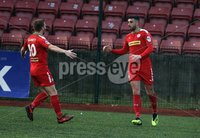 Danske Bank Premiership, Solitude, Belfast 1/12/2018 . Cliftonville vs Dungannon Swifts. Joe Gormley scored for Cliftonville. Mandatory Credit INPHO/Freddie Parkinson