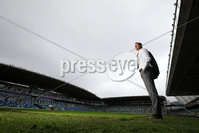 Press Eye - Belfast - Northern Ireland - 30th June 2020. New Northern Ireland football manager Ian Baraclough pictured at the National Stadium in Belfast.. Photo by  Kelvin Boyes  / Press Eye