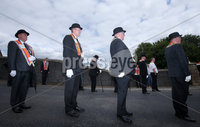 Press Eye - Belfast - Northern Ireland - 7th July 2018. Annual Orange Order parade and protest at Drumcree Church in Portadown.  The parade has been stopped from going down the Gravaghy Road for 20 years. . Picture by Jonathan Porter/PressEye