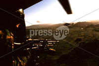 British Army patrolling south Armagh