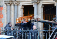 Press Eye - Belfast - Northern Ireland - 9th February 2018. Funeral for Mark Ponisi at St Paul\'s Church off the Falls Road in west Belfast. The 53-year-old was murdered at his home in east Belfast in January.
