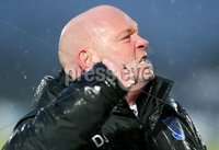 Bet McLean Cup Semi-Final, Showgrounds, Co. Antrim 10/2/2018. Ballymena United vs Cliftonville. Ballymena manager David Jeffrey celebrates after the game . Mandatory Credit ©INPHO/Jonathan Porter