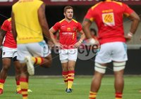 Pre-Season Friendly, Stade Aime Giral, Perpignan, France 9/8/2018. USA Perpignan vs Toulouse. Perpignan\'s Paddy Jackson during the warm up. Mandatory Credit ©INPHO/Billy Stickland