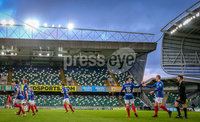 Danske Bank Premiership, Windsor Park, Belfast 9/2/2019. Linfield vs Coleraine. Linfield\'s Kyle McClean celebrates scoring. Mandatory Credit INPHO/Matt Mackey