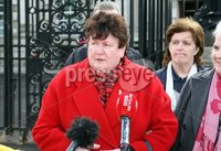 Mandatory Credit - Picture by Freddie Parkinson/Press Eye ©. Thursday 8 March 2018. LEGACY: Judgment is due today in a major High Court battle over funding for a series of legacy inquests in Northern Ireland.. The widow of a man shot dead along with eight IRA men is taking legal action against the UK Government and the devolved regime at Stormont for allegedly withholding financial resources needed to hold hearings onto nearly 100 deaths.. Brigid Hughes challenged Arlene Foster amid claims the DUP leader unlawfully blocked Executive discussion of a plan aimed at clearing the backlog.. Following seven days of argument in Belfast the judge, Sir Paul Girvan, confirmed he was reserving his verdict.. It is due to be delivered at the High Court this morning.