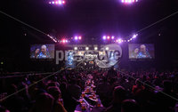 Press Eye - Northern Ireland - 20th April 2017 - Photographer - © Matt Mackey / Presseye.com. Betway Premier League Darts, Night 12, The SSE Arena, Belfast.. Phil Taylor v Gary Anderson.