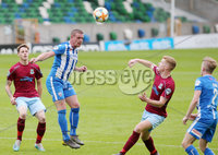 Press Eye - Belfast - Northern Ireland - 27th July 2020 - . Ballymena United FC v Coleraine FC Sadler\'s Peaky Blinder Irish Cup Semi Final at the National Football Stadium at Windsor Park.. Coleraines Aaron Canning.. Photo by Jonathan Porter Press Eye.