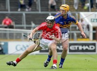 Munster GAA Hurling Intermediate Championship 2012 Semi-Final, Páirc Uí Chaoimh 24/6/2012. Cork vs Tipperary. Cork\'s David Drake and Paudie White of Tipperary. Mandatory Credit ©INPHO/Lorraine O\'Sullivan