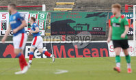 Danske Bank Premiership, The Oval, Belfast, Northern Ireland. 1/5/2021. Glentoran vs Linfield FC . Glentoran against Linfield  . Mandatory Credit INPHO/Presseye/Brian Little