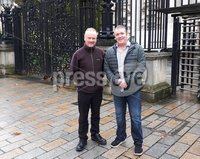 . Press Eye . Tuesday 14th November 2017. Trevor McKee, a former trustee of Lough Neagh Rescue, has won a High Court case enabling him to appeal the decision to open a statutory inquiry into the charity.. Pictured on the left, with fellow Lough Neagh Rescue volunteer Gregory Burke.. copy. Alan Erwin <alanlagansidemedia@gmail.com>