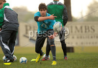 Ireland Rugby Squad Training, Christchurch Rugby Club, Christchurch, New Zealand 14/6/2012. Conor Murray during training. Mandatory Credit ©INPHO/Billy Stickland