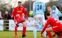 Danske Bank Premiership, Milltown Playing Fields, Newry 2/12/2017 . Warrenpoint Town vs Cliftonville. Cliftonville\'s Rory Donnelly. Mandatory Credit ©INPHO/Philip Magowan