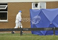 Press Eye - Belfast - Northern Ireland - 14th April 2012. A mother and daughter have died in a fire in County Tyrone.. The mother was in her 70s and her daughter was in her 30s.. A man, also in his 30s, escaped injury in the blaze.. It is understood the mother was visiting the house at the time of the incident.. ©Russell Pritchard / Presseye
