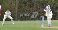 © Presseye Press Eye Ltd- Northern Ireland. May 5th 2012. Mandatory Credit Photo by Presseye.com. . NCU Ulster Bank Premier League. Instonians v CIYMS.. CIYMS\' Ross Boultwood is caught behind from Eugene Moleon\'s delivery.