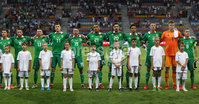Press Eye - Belfast -  Northern Ireland - 11th June 2019 - Photo by William Cherry/Presseye. Northern Ireland team before Tuesday nights UEFA EURO 2020 Qualifier against Belarus at the Borisov Arena, Belarus.      Photo by William Cherry/Presseye