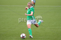 Press Eye - Belfast - Northern Ireland - 8th October 2019. European Women\'s U19 Championship 2020 Qualifying Round -  Northern Ireland Vs Norway, Seaview. Northern Ireland\'s Casey Howe.. Picture by Jonathan Porter/PressEye