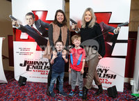Press Eye - Belfast - Northern Ireland - 30th September 2018 - . Dawn Whalley, Ethan Whalley, Alfie Lennon and Nicola Lennon pictured at Movie House Dublin Road for a special preview screening of upcoming comedy, JOHNNY ENGLISH STRIKES AGAIN, in cinemas across Northern Ireland from Friday 5th October.. Photo by Kelvin Boyes / Press Eye..