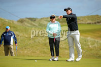 Press Eye - Belfast - Northern Ireland - 17th May 2017 - . Paul Dunne pictured at the Dubai Duty Free Irish Open Media Day at Portstewart Golf Club . Photo by Kelvin Boyes / Press Eye.
