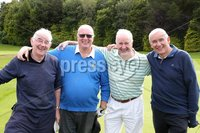 1 September 15 -   Picture by Darren Kidd / Press Eye.. Hillsborough Oyster Festival 2015:. The Oyster Masters at Lisburn Golf Club: Mal Clarke, Denis Logan, Sean Hall and John Sell