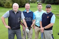 1 September 15 -   Picture by Darren Kidd / Press Eye.. Hillsborough Oyster Festival 2015:. The Oyster Masters at Lisburn Golf Club:  Davy Leitch, Stephen Fletcher, Jason  and Eddie Gibson