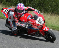 PressEye-Northern Ireland- 9th August 2018-Picture by Brian Little/ Double Red. Ulster Grand Prix Practice . Lee Johnston Honda Racing SP2 Fireblade  during  Superbike practice for the Ulster Grand Prix races around the Dundrod 7.4 mile circuit. . Picture by Brian Little/Double Red