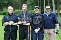1 September 15 -   Picture by Darren Kidd / Press Eye.. Hillsborough Oyster Festival 2015:. The Oyster Masters at Lisburn Golf Club:  Paul Dickson, Mark Mahaffey, Simon Mann and Richard Ross