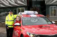 Press Release Image. Press Eye Belfast - Northern Ireland 28th November 2017Picture by William Cherry  / Press Eye.com. T/Assistant Chief Constable Barbara  PSNI andUlster and Ireland rugby star Craig Gilroy.. Rugby star Craig Gilroy get the 'Gift of a Lift' this Christmas as they launch Coca-Cola's 2017 Designated Driver campaign.. Ulster and Ireland rugby star Craig Gilroy gives the gift of a lift at the launch of Coca-Cola's 2017 Designated Driver campaign. . The aim of the campaign to encourage people across Ireland to give the 'Gift of a Lift' to friends and loved-ones this Christmas, by staying sober and being the Designated Driver on a night out and enjoy two free drinks from Coca-Cola.  For the first time Designated Drivers can now use the mobile wallet app on their smart phones to easily access the Coca-Cola vouchers. The new digital voucher can be claimed by scanning the QR code (found on point-of-sale materials in bars and restaurants across the country) or by free texting Coca-Cola to 50015 in Republic of Ireland and Coca-Cola to 80800 in Northern Ireland throughout the holiday season. . Coca-Cola is proud to support Irish road safety by rewarding Designated Drivers with two FREE Drinks from the Coca-Cola range. . For more information and a list of participating outlets, visit www.designateddriver.ie  . Twitter: @CocaColaie. Hashtag: #DesignatedDriver. Website: designateddriver.ie . Facebook: facebook.com/Coca-Cola. --- ENDS ---. For further information, please contact Eimhear Breen, Edelman:. Email: Eimhear.breen@edelman.com . Phone: 01 678 9333 / 087 0987893.
