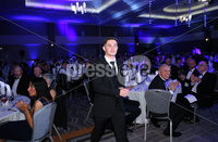 Press Eye - Belfast - Northern Ireland - 7th May 2018  - . NI Football Awards at the Crowne Plaza Hotel.. Michael McCrudden of Institute.. Photo by Kelvin Boyes / Press Eye .