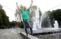 Press Eye - Belfast -  Northern Ireland - 07th October 2017 - Photo by William Cherry/Presseye. Northern Ireland fan Floyd McCarter pictured in Oslo ahead of Sundays World Cup Qualifier against Norway at the Ullevaal Stadion, Oslo.   Photo by William Cherry/Presseye