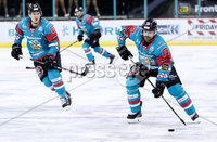 Press Eye - Belfast -  Northern Ireland - 10th March 2018 - Photo by William Cherry/Presseye. Belfast Giants Brandon Benedict during Saturday evenings Elite Ice Hockey League game at the SSE Arena, Belfast.