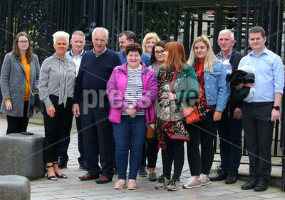 Relatives of UVF murder victims Be...