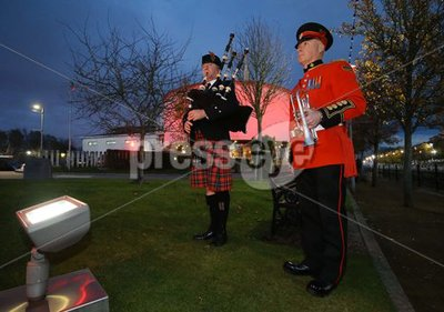 Lisburn Beacon lighting and Flag L...