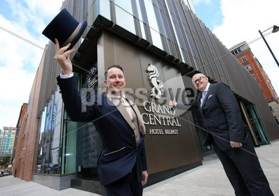 Opening of Grand Central Hotel in ...